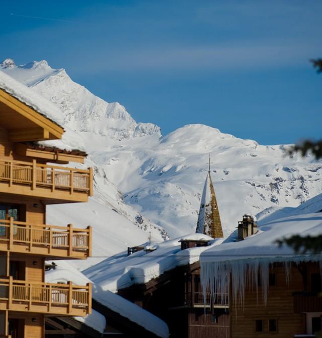 Alojamiento a pie de pista en Val D'Isère, Francia