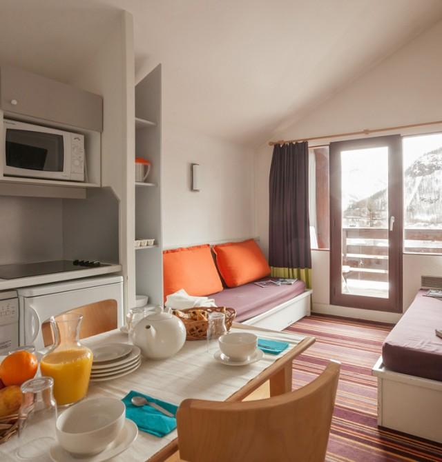 Apartamentos confortables, para todos los gustos y presupuestos en Val D'Isère, Francia