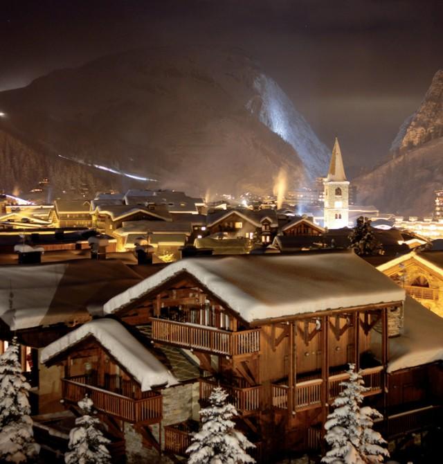 Val D'Isère, un auténtico pueblo alpino en Val D'Isère, Francia