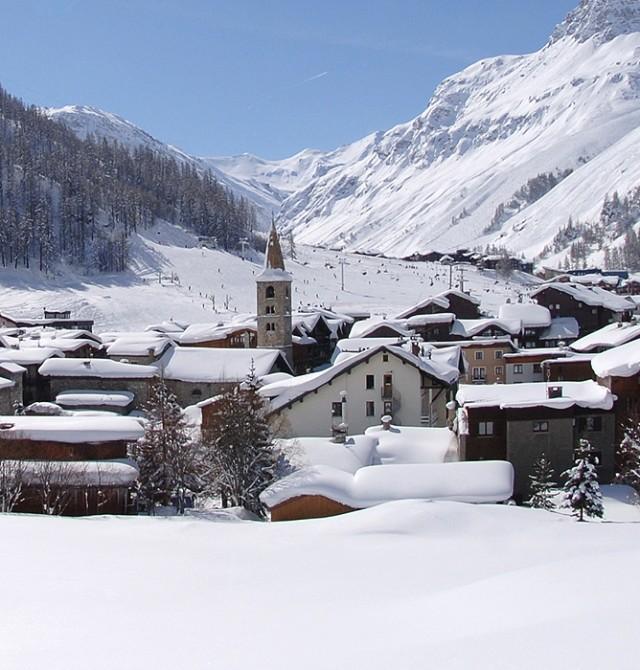 en Val D'Isère, Francia