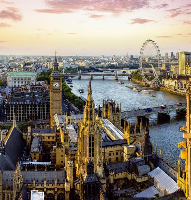 Londres en Inglaterra y Escocia