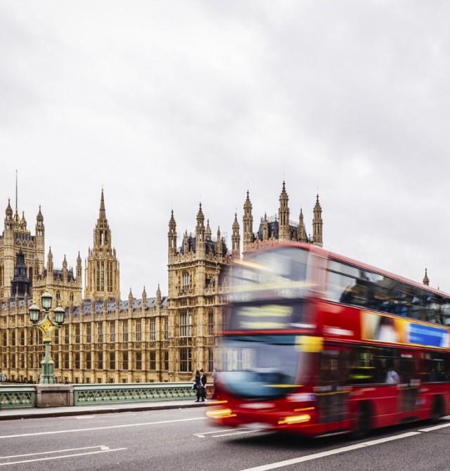 El Big Ben y el Parlamento  en Inglaterra y Escocia