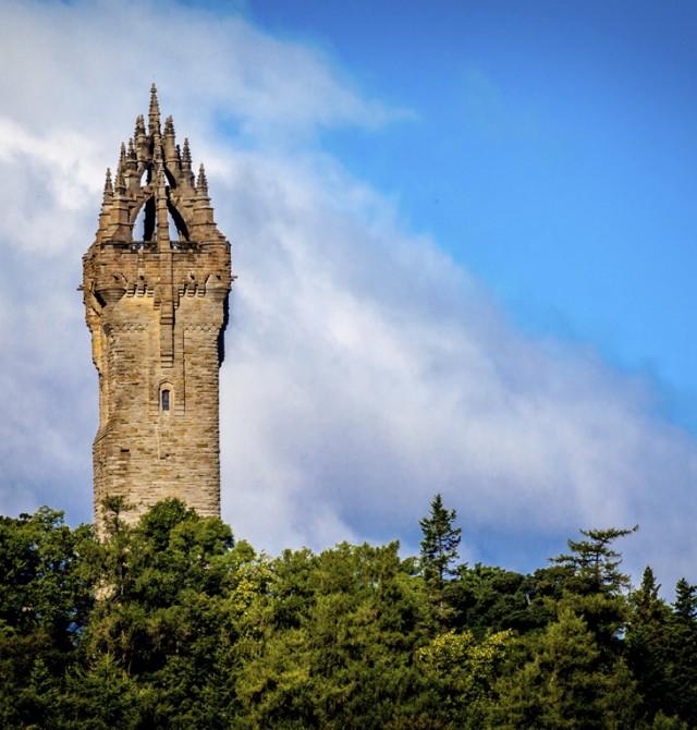 Monumento a William Wallace en Inglaterra y Escocia