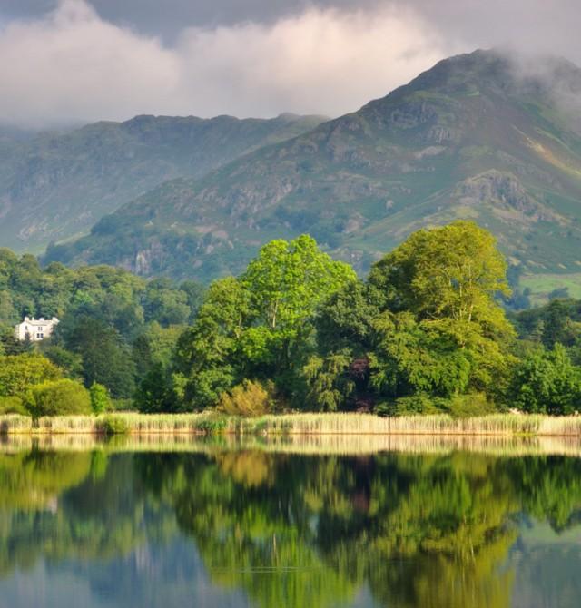 Region de los lagos en Inglaterra y Escocia