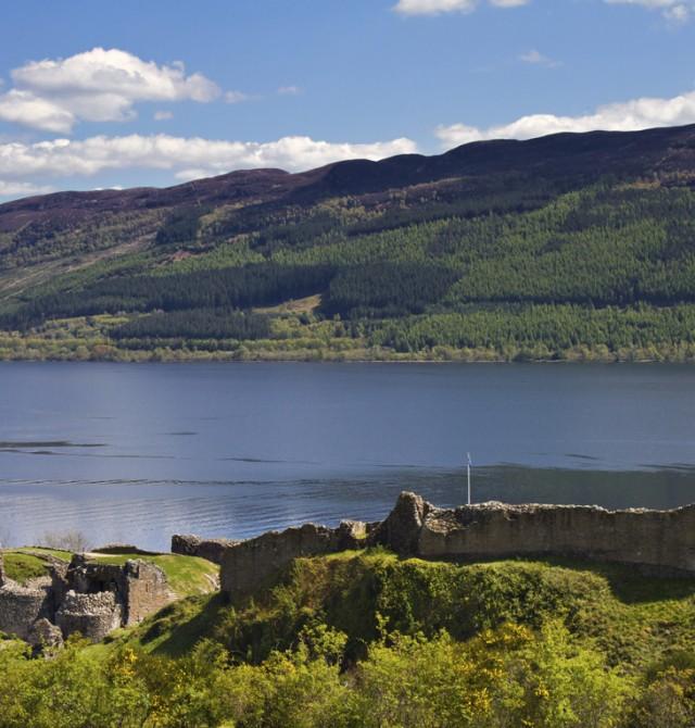 Lago Ness en Inglaterra y Escocia