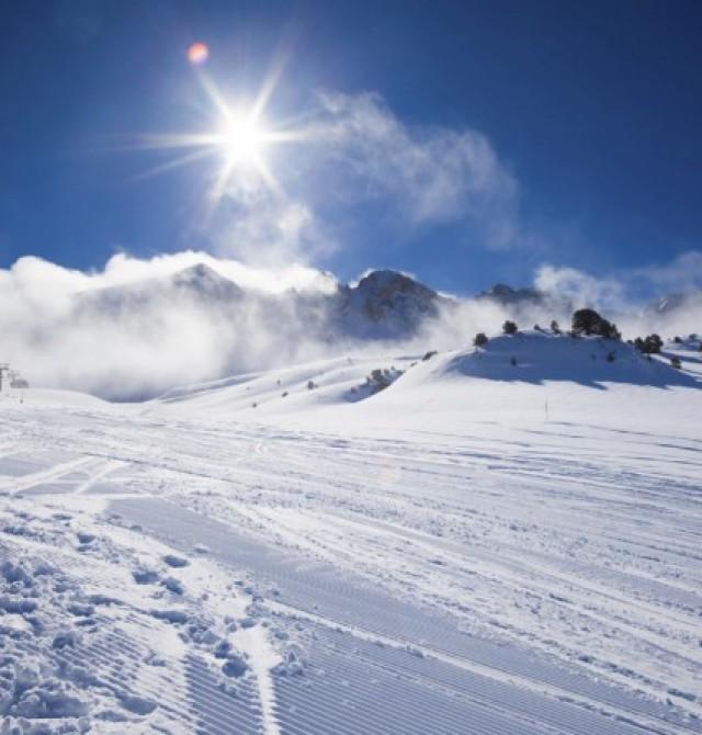 Pista para todos en Soldeu, Andorra