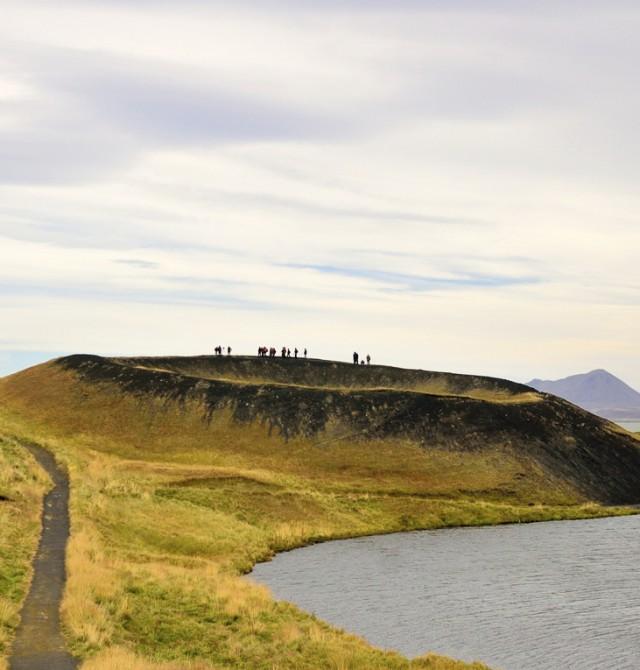 Senderismo volcánico en Islandia