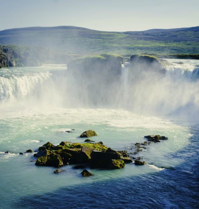 Imponentes cascadas en Islandia
