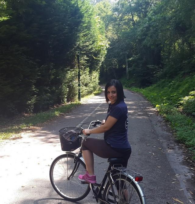 Ruta en bici por la vía verde del río Pas