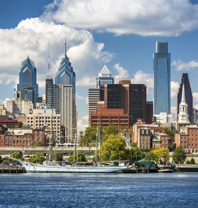 Filadelfia en Canadá y Estados Unidos