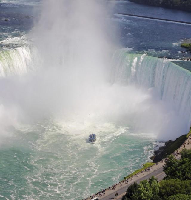 Cataratas del Niágara en Canadá y Estados Unidos