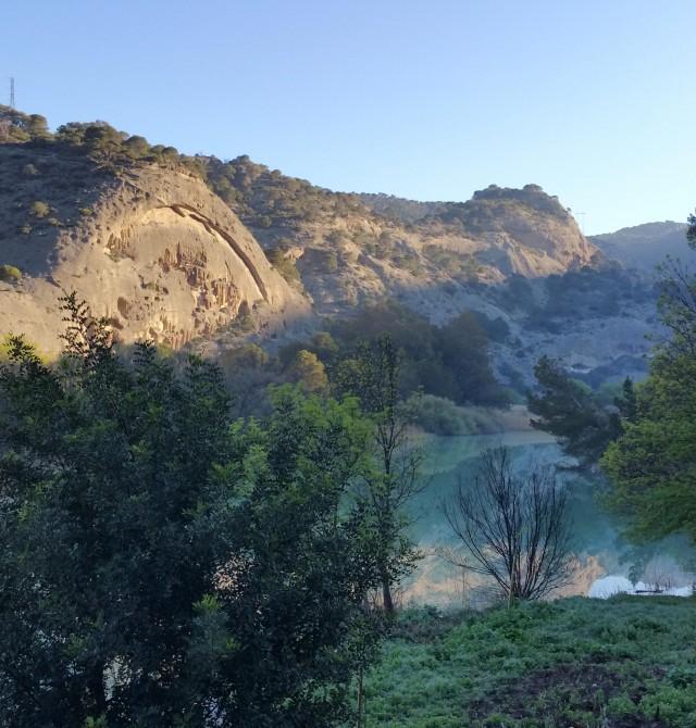 Paraje Natural Desfiladero de los Gaitanes en  Fuengirola, Málaga