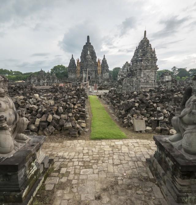 Candi Prambanan en Indonesia