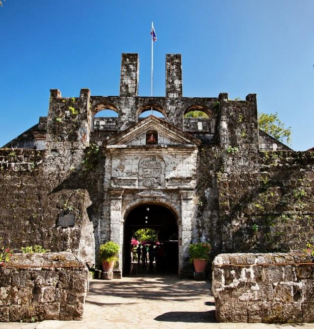 Cebú, Fortaleza de San Pedro en Filipinas