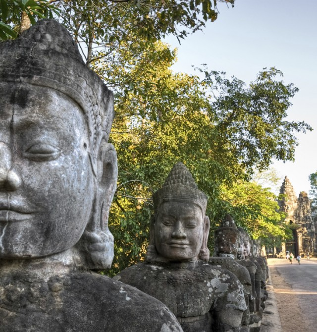 Templos de Angkor en Myanmar, Vietnam y Camboya