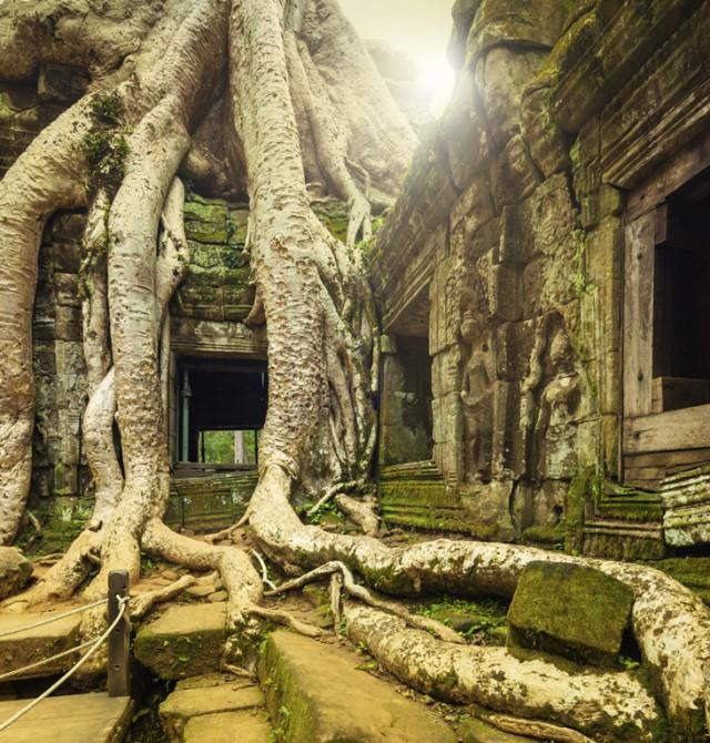 Angkor Thom en Myanmar, Vietnam y Camboya