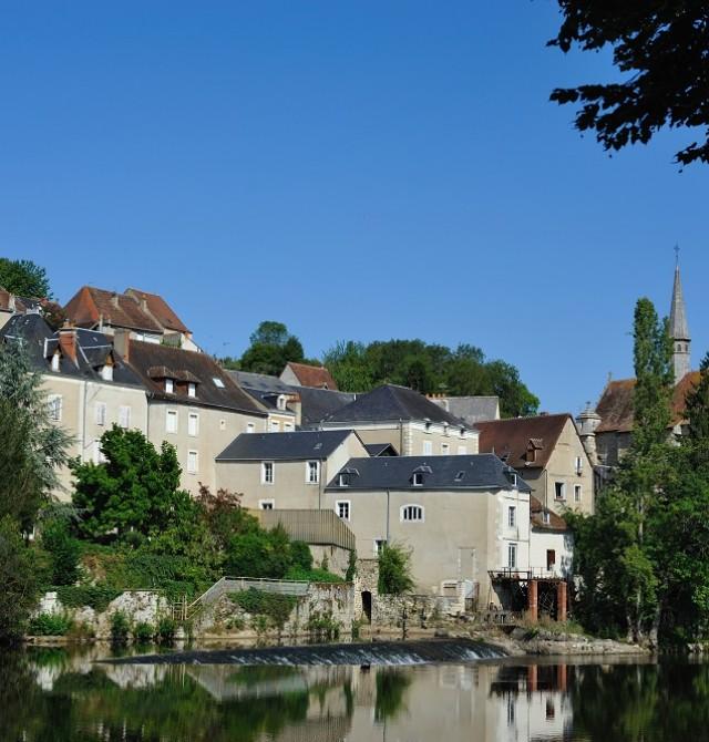 Argenton sur Creuse en Francia