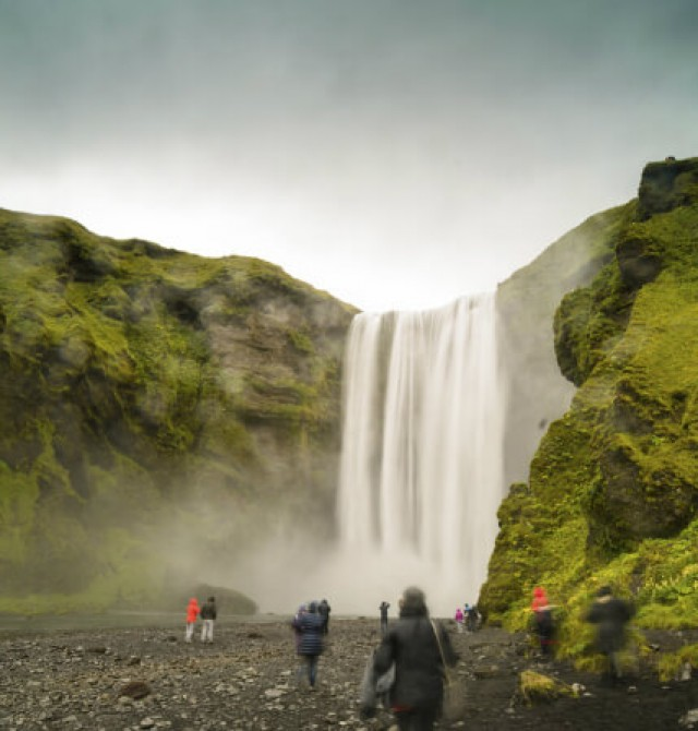 Seljalandfoss y Skogafoss en Islandia