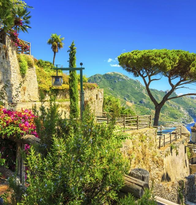 Villa Rufolo en Italia