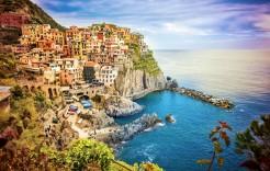 Manarola en Italia