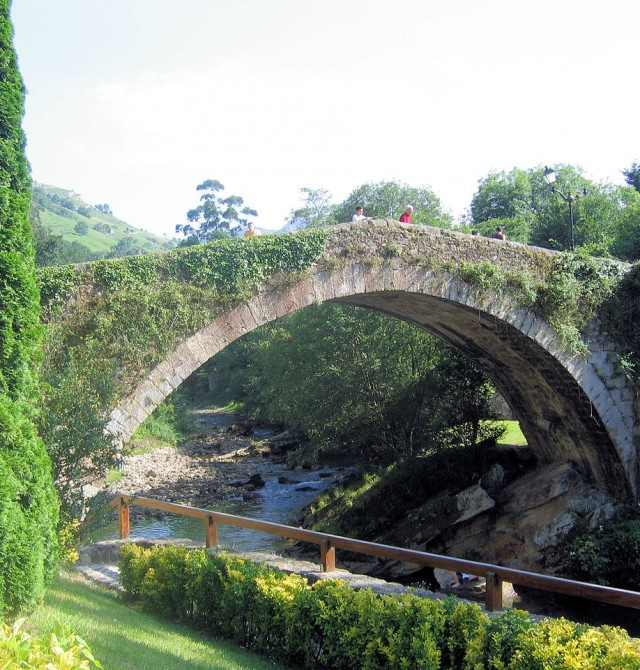 en Cantabria, Puente Viesgo