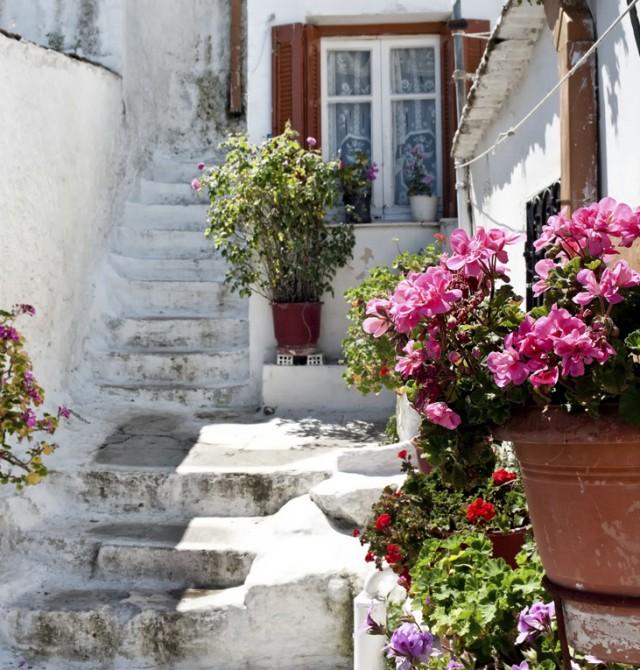 Barrio de Plaka en Grecia y Turquía