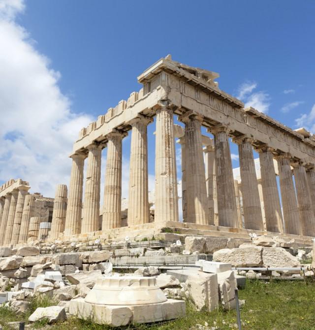 Partenón en Grecia y Turquía