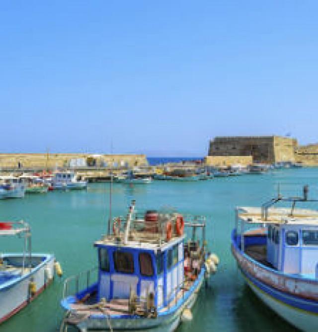 Creta en Grecia y Turquía