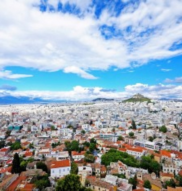 Atenas en Grecia y Turquía