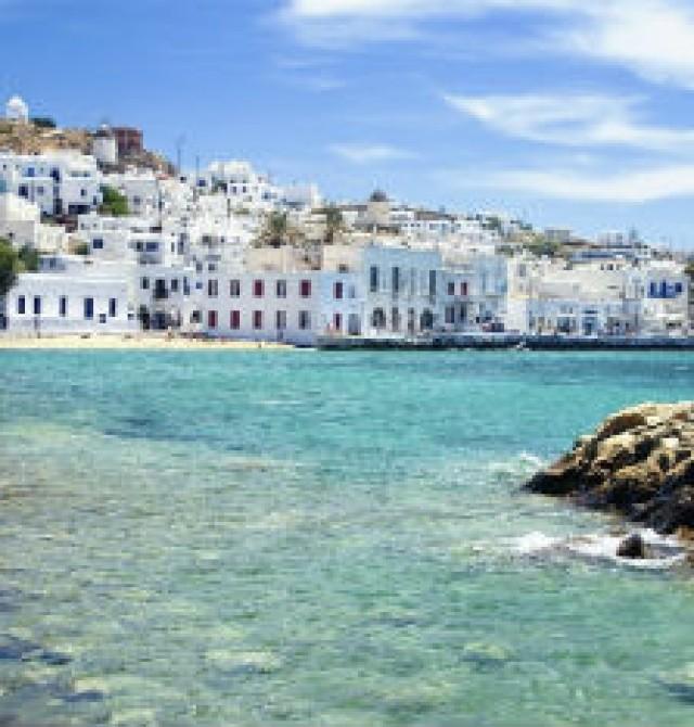 Mykonos  en Grecia y Turquía