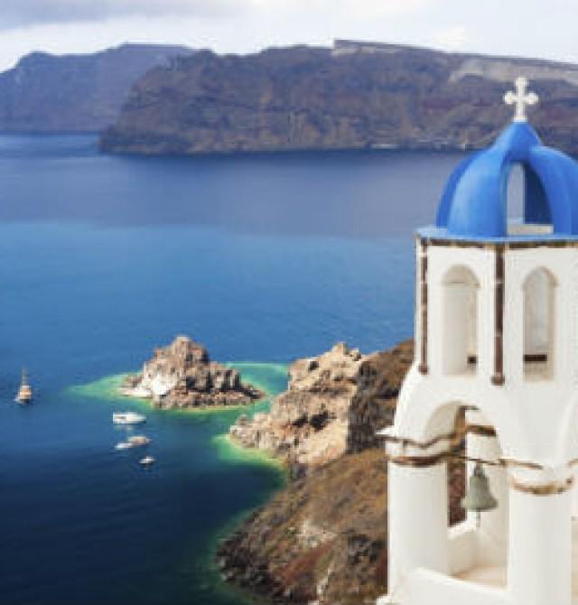 Santorini en Grecia y Turquía