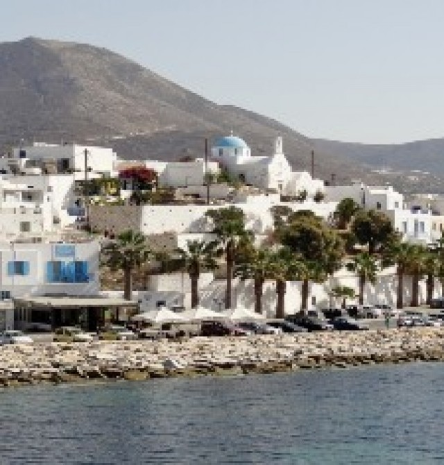 Paros en Grecia