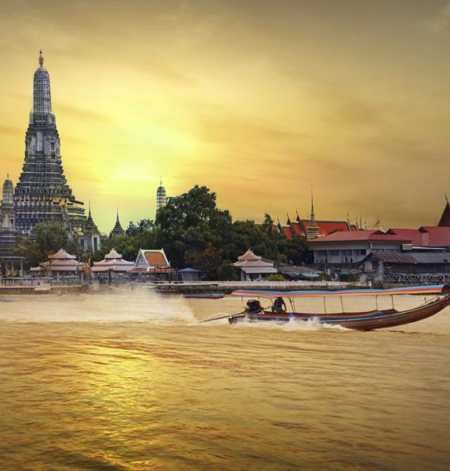 Bangkok en Tailandia y Camboya