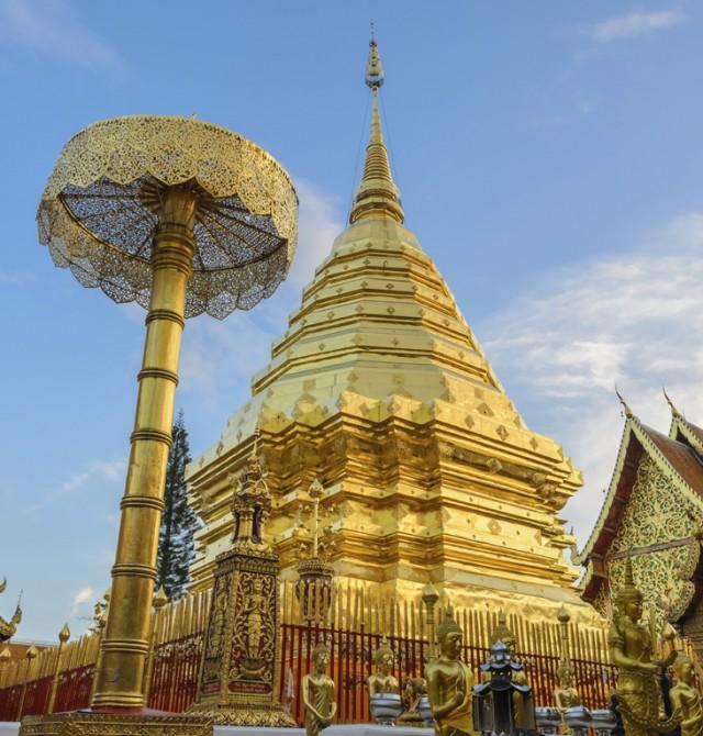 Wat Phra That Doi Suthep en Tailandia y Camboya