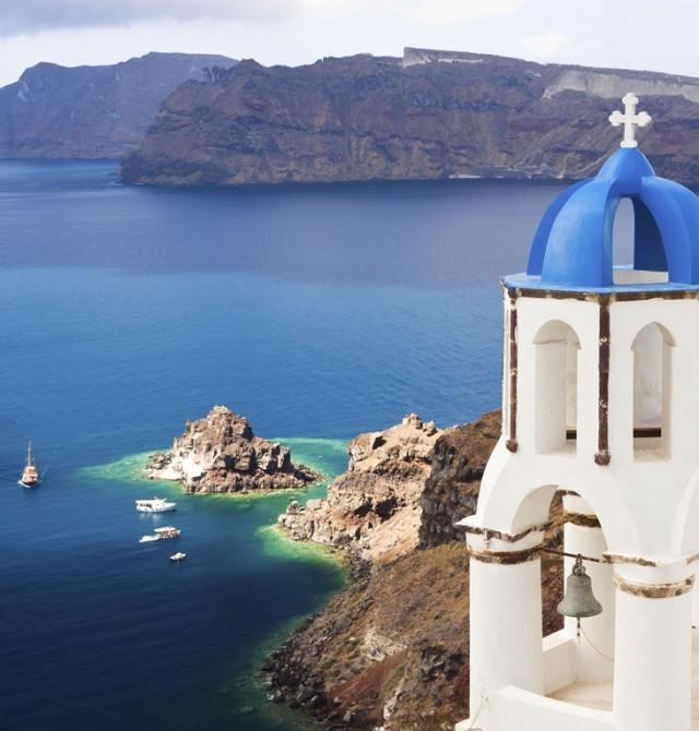 Atardecer en Santorini en Grecia