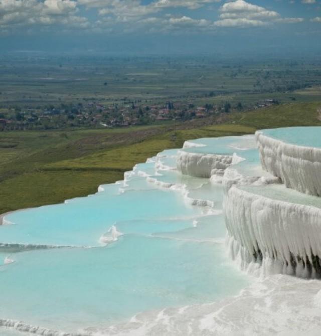 El Castillo de algodón en Turquía