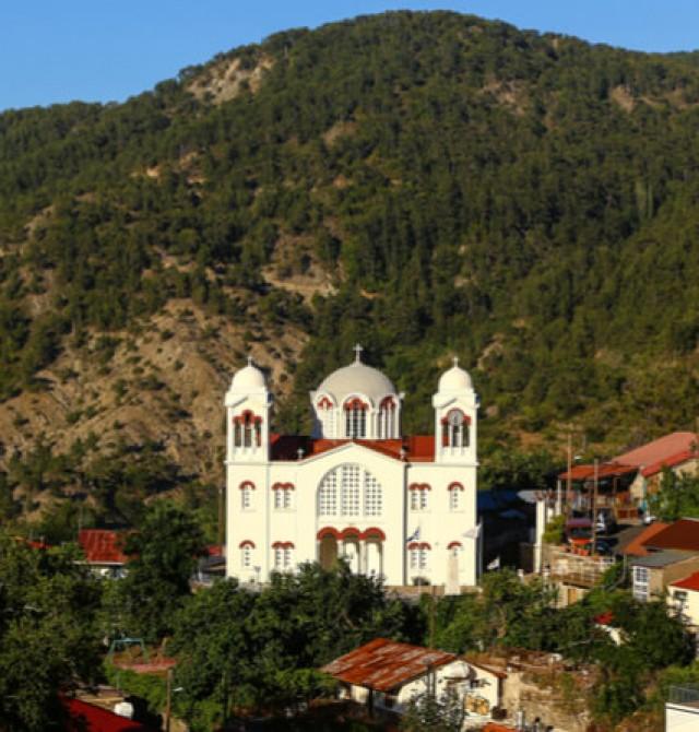 Las iglesias de Troodos en Chipre