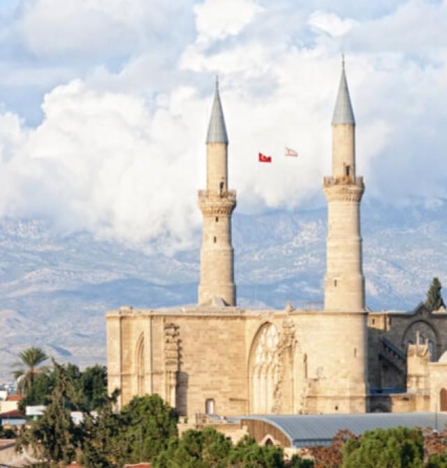 La mezquita Selimiye en Chipre