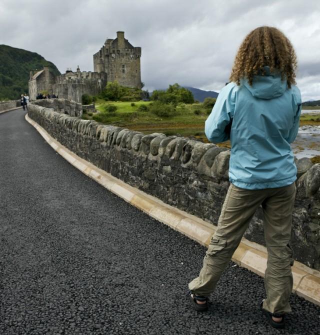 Fortaleza de cine en Escocia