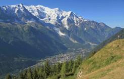 Chamonix en El macizo del Mont Blanc
