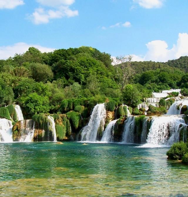 Krka en Croacia
