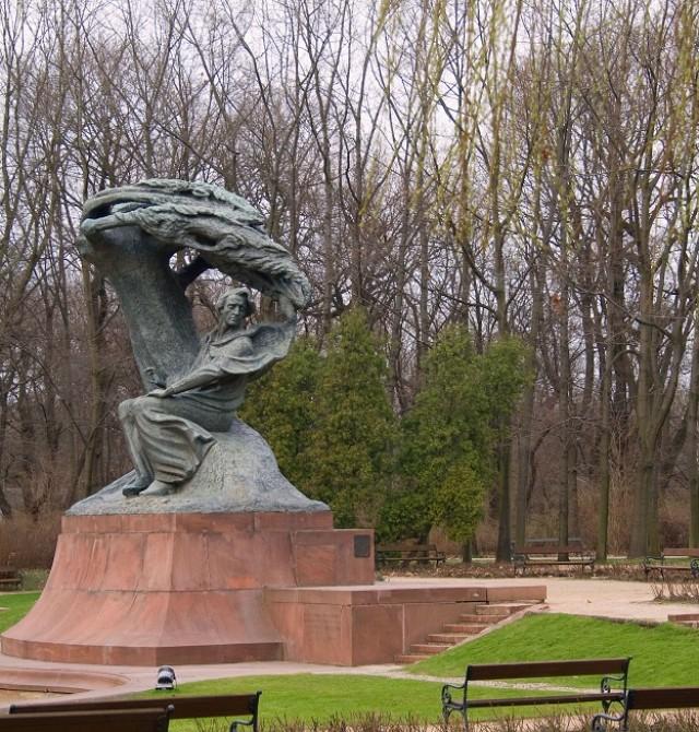 Monumento a Chopin en el Parque Lazienki