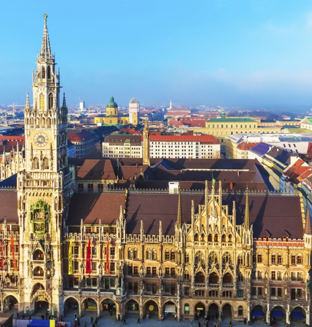 en Alemania y Austria: Múnich - Linz - Viena - Salzburgo