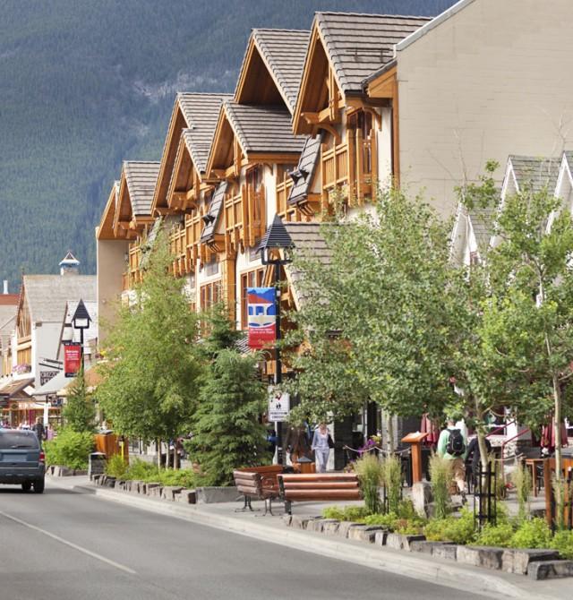 Banff en Canadá