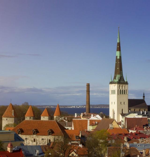 Tallín en Lituania, Letonia y Estonia