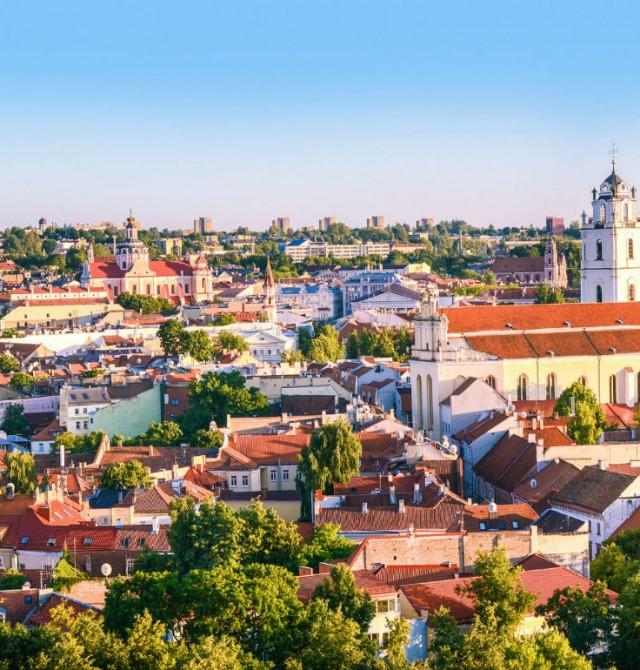 Vilna en Lituania, Letonia y Estonia