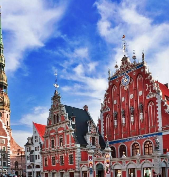 Riga en Lituania, Letonia y Estonia