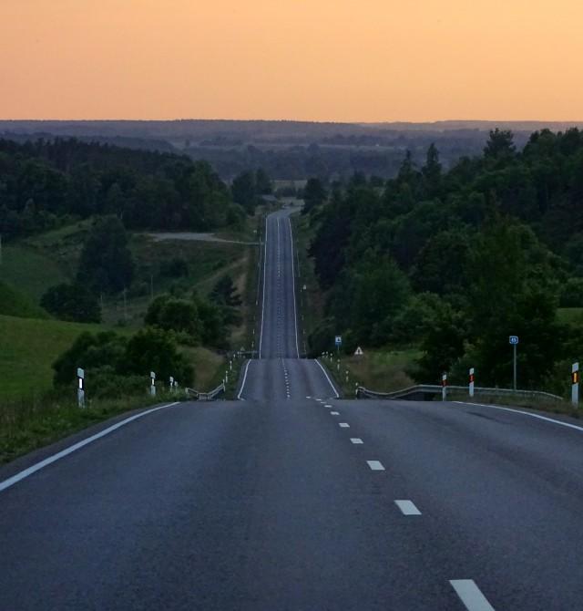 Carreteras lituanas en Estonia, Letonia y Lituania