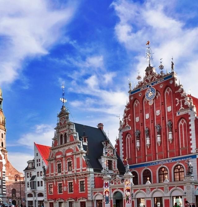 Riga en Estonia, Letonia y Lituania