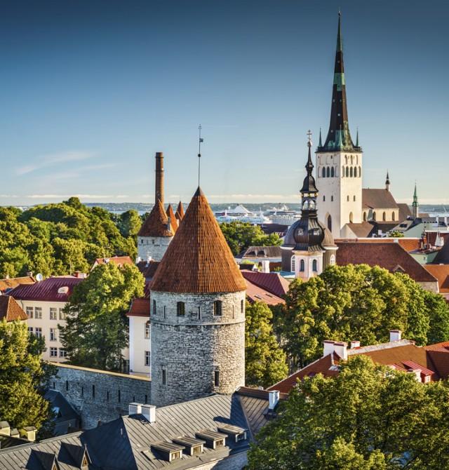 Tallin en Estonia, Letonia y Lituania